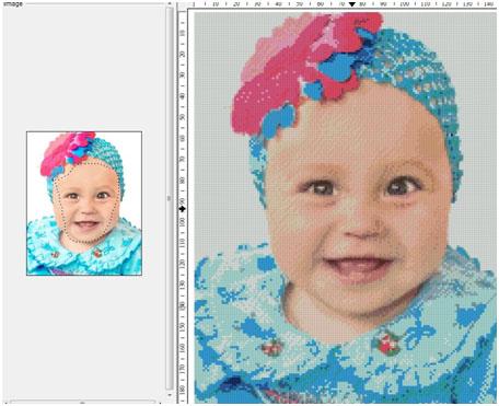 схема вышивки фото, схема по